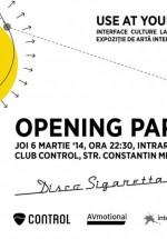 Disco Sigaretta în Control Club din Bucureşti