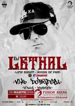 DJ Lethal (DJ Set) în Fusion Arena din Bucureşti