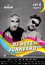 DJ Hefe şi Junkyard în Club Goblin din Bucureşti
