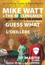 Mike Watt & The Missingmen în Control Club din Bucureşti