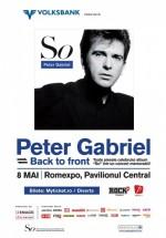 Concert Peter Gabriel la Bucureşti