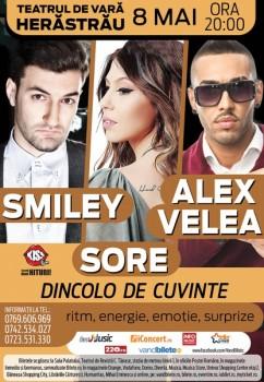 """Concert Smiley – """"Dincolo de cuvinte"""" la Teatrul de Vară Herăstrău"""