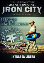 Concert Folk Frate! în Iron City din Vama-Veche