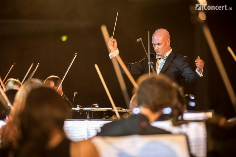 Dirijorul american David Handel - Foto: Daniel Robert Dinu / iConcert.ro