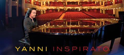 """Yanni aduce la Sala Palatului cel mai nou album, """"Inspirato"""""""