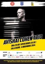 Concert Avishai Cohen Trio la Sala Radio din Bucureşti