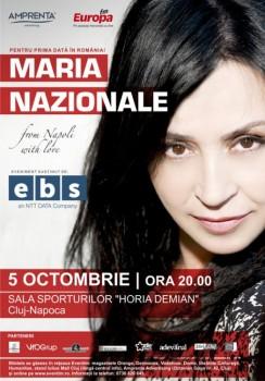Concert Maria Nazionale la Sala Sporturilor Horia Demian din Cluj-Napoca