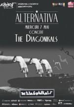 Concert The Diagonikals în Club Expirat din Bucureşti