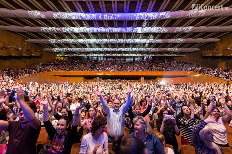 Publicul prezent la concertul 3 Sud Est de la Bucureşti - Foto: Daniel Robert Dinu / iConcert.ro