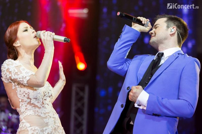 Elena Gheorghe şi Laurenţiu Duţă în concert la Sala Palatului - Foto: Daniel Robert Dinu / iConcert.ro