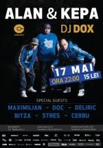 Concert Alan & Kepa şi DJ Dox în Colectiv din Bucureşti
