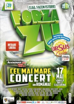 Forţa Zu 2014 la Cluj-Napoca