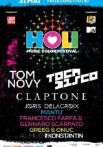 HOLI Music Color Festival 2014 în Piaţa Constituţiei din Bucureşti