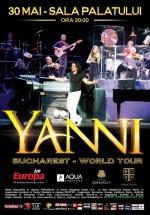 Concert Yanni la Sala Palatului din Bucureşti