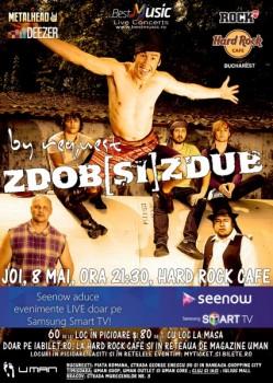 Concert Zdob şi Zdub în Hard Rock Cafe din Bucureşti (CONCURS)