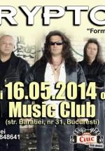 """Concert Krypton """"formula de aur"""" în Music Club din Bucureşti"""