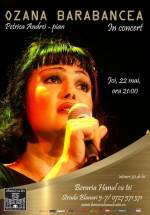 Concert Ozana Barabancea la Berăria Hanul cu Tei din Bucureşti