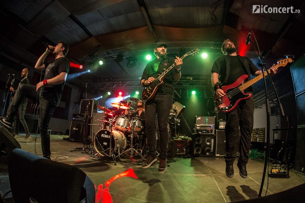 Goodbye to Gravity, concert în deschiderea Arch Enemy - Foto: Paul Voicu / iConcert.ro