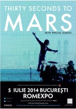 Concert Thirty Seconds To Mars la Bucureşti