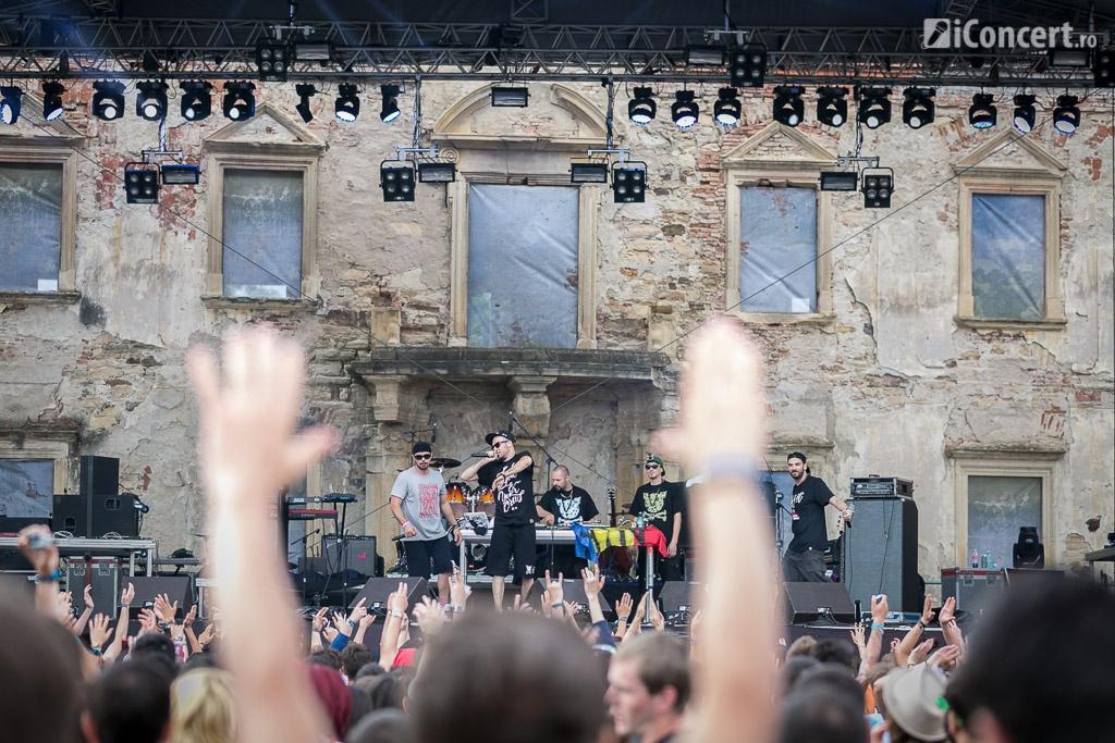 CTC pe scena de la Electric Castle Festival 2014 - Foto: Daniel Robert Dinu / iConcert.ro