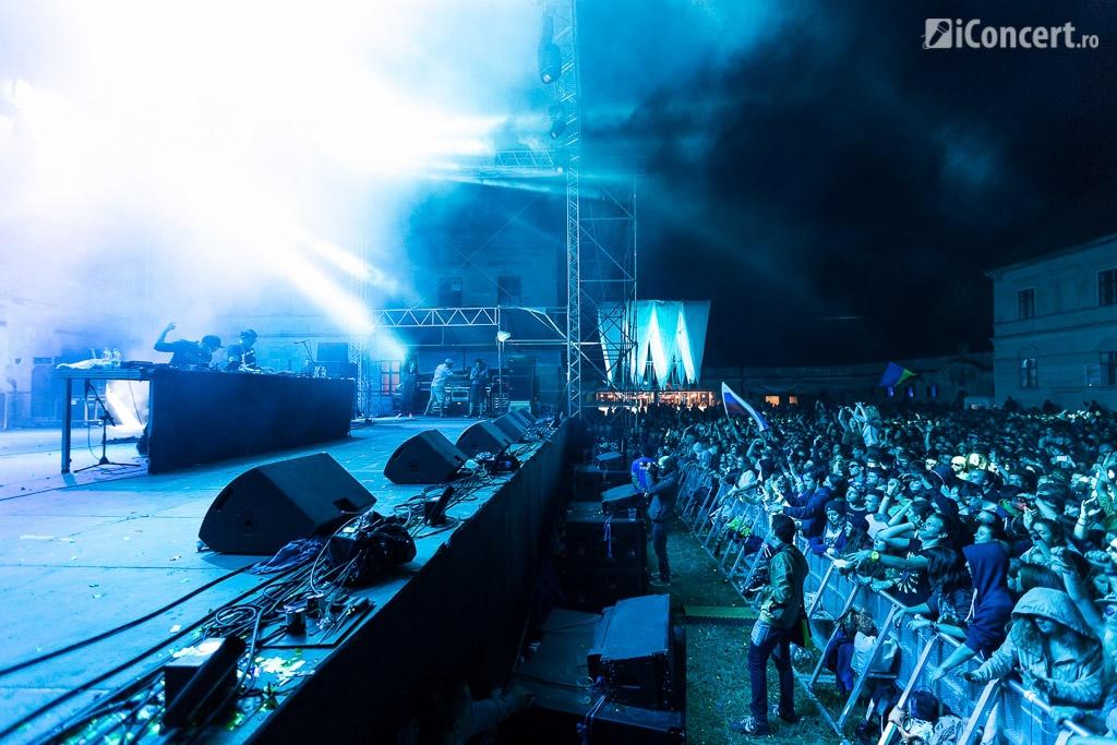 Gramatik a strâns mii de fani la scena principală - Foto: Daniel Robert Dinu / iConcert.ro