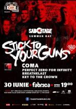 Concert Stick To Your Guns în Club Fabrica din Bucureşti (CONCURS)