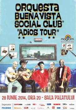 Concert Orquesta Buena Vista Social Club la Sala Palatului din Bucureşti
