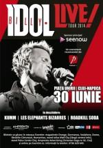 Concert Billy Idol în Piaţa Unirii din Cluj-Napoca