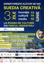 Suedia Creativă – concert Kim Cesarion în Parcul Herăstrău din Bucureşti