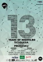 13 Years of Nights.ro la Casa Presei Libere din Bucureşti
