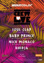 Soul Clap, Baby Prince şi Nick Monaco la La Plage din Bucureşti