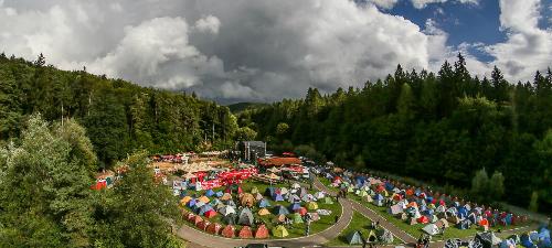 Zona de recreere Adventure Metal Park la Rockstadt Extreme Fest 2014