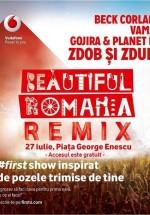 Beautiful Romania Remix în Piaţa George Enescu din Bucureşti