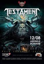 Concert Testament la Arenele Romane din Bucureşti