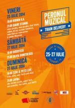 Train Delivery 2014 la Gara de Nord din Bucureşti