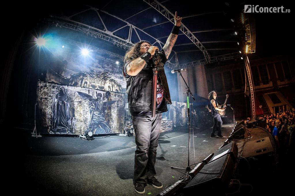 Testament în concert la Arenele Romane - Foto: Paul Voicu / iConcert.ro