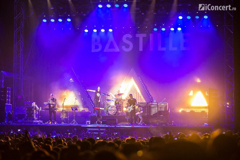 Bastille, headliner-ii primei zile de festival - Foto: Daniel Robert Dinu / iConcert.ro