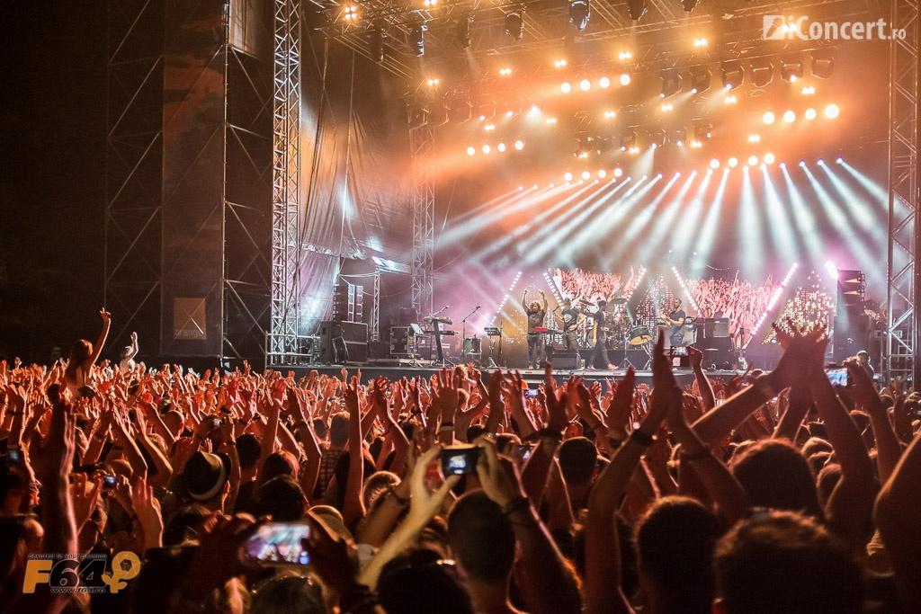 Publicul la concertul trupei Bastille - Foto: Daniel Robert Dinu / iConcert.ro