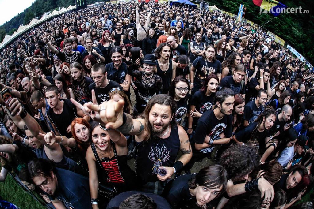 Publicul de la Rockstadt Extreme Fest 2014 - Foto: Paul Voicu / iConcert.ro