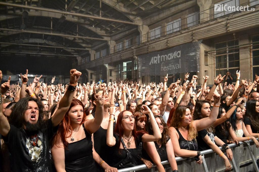 Fanii s-au bucurat de show-urile artiştilor preferaţi de la ARTmania 2014 - Foto: Teodora Neagu / iConcert.ro