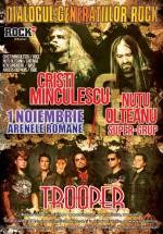 Concert Dialogul Generaţiilor Rock la Arenele Romane din Bucureşti