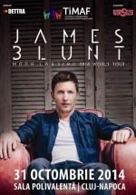 Concert James Blunt la Sala Polivalentă din Cluj-Napoca