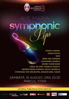 Ave Maria Symphonic Pops, în Parcul Titan din Bucureşti