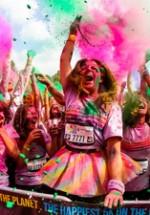 FOTO: The Color Run 2014 pe Şoseaua Kiseleff din Bucureşti