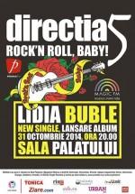 """Concert direcţia 5 – """"Rock'n roll, baby!"""" la Sala Palatului din Bucureşti"""