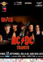 Concert Tribut AC/DC cu The R.O.C.K. la Hard Rock Cafe din Bucureşti