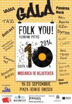 Gala Folk You! Florian Pittiş 2014 la Bucureşti