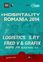 Logistics, S.P.Y. şi Fred V & Grafix – Hospitality România – la Arenele Romane din Bucureşti (CONCURS)