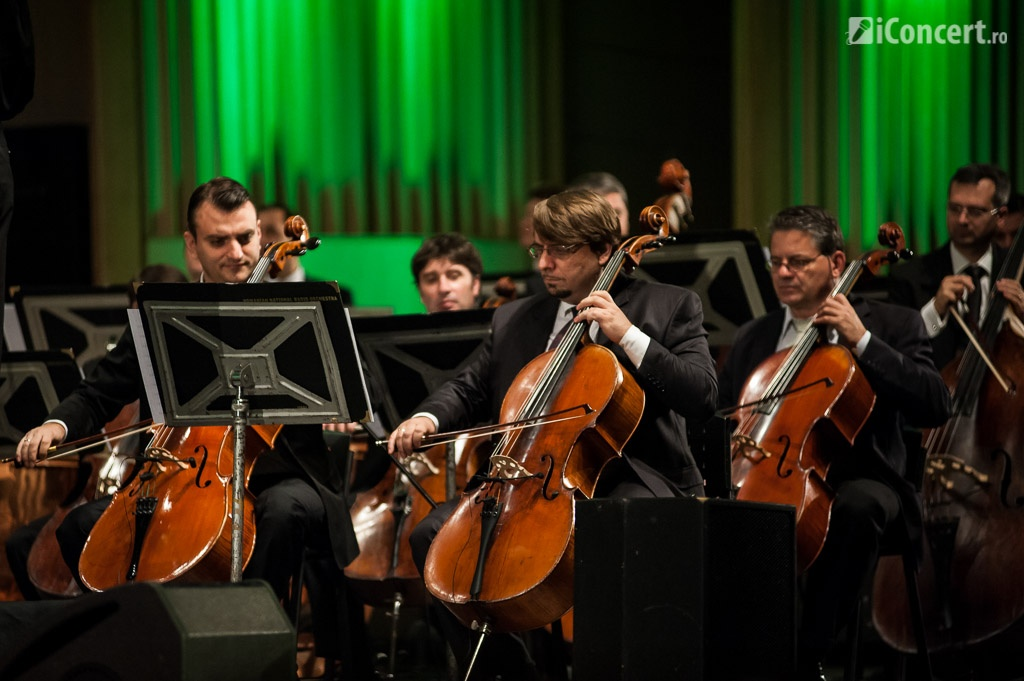 Instrumentiştii Orchestrei Naţionale Radio - Foto: Fabian Radu / iConcert.ro