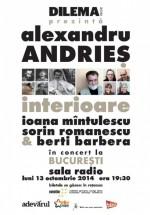 Concert Alexandru Andrieş – Interioare la Sala Radio din Bucureşti